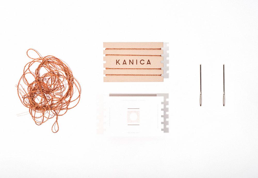 Kanica, una identidad hilada a mano – diseñador Angelos Botsis