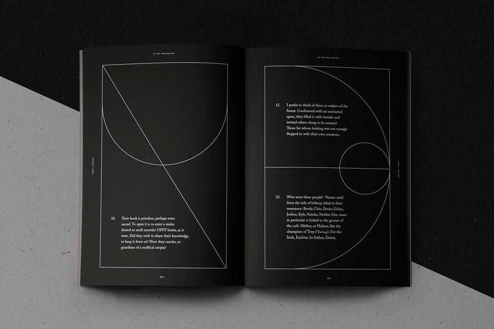 OFFF Unmasked. Un book art tan único como el evento en sí con diseño de Vasava
