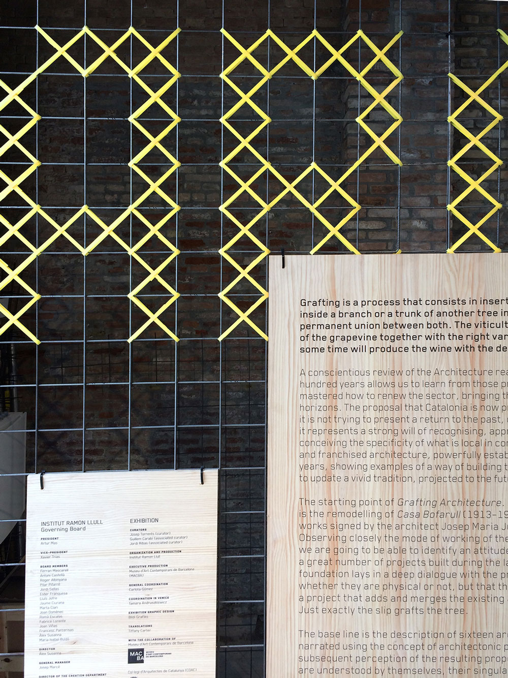 Grafting Architecture, la arquitectura injertada de Bildi Grafiks