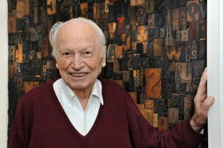 Muere Hermann Zapf, uno de los grandes maestros de la tipografía