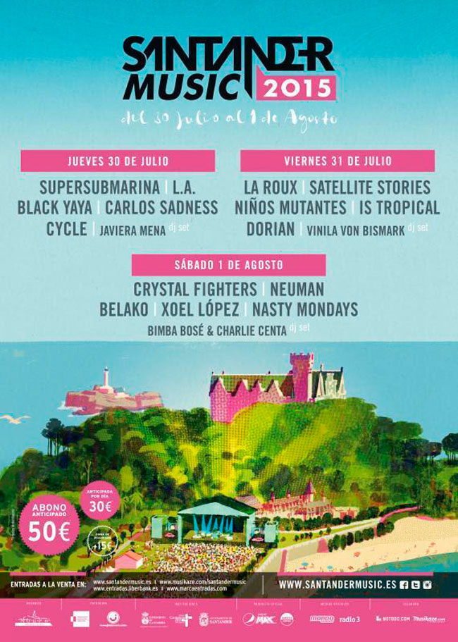 cartel Santander Music 2015