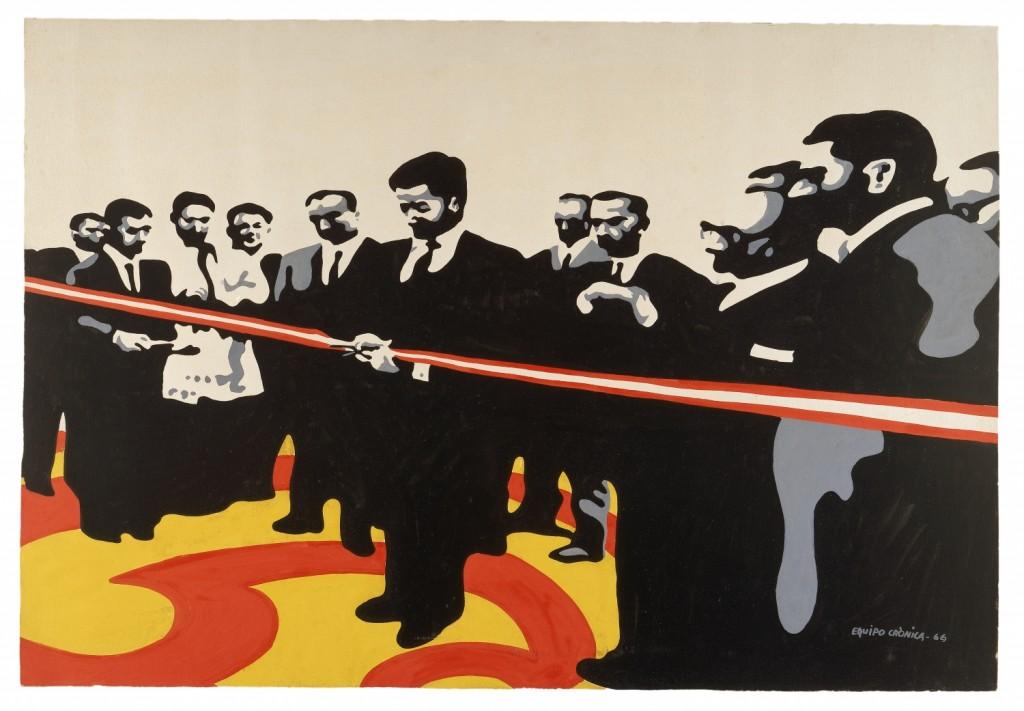 Colectivos artísticos en Valencia bajo el franquismo – Equipo Crónica IVAM