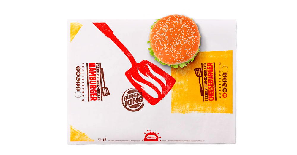 Burger King renueva su identidad de marca y su packaging