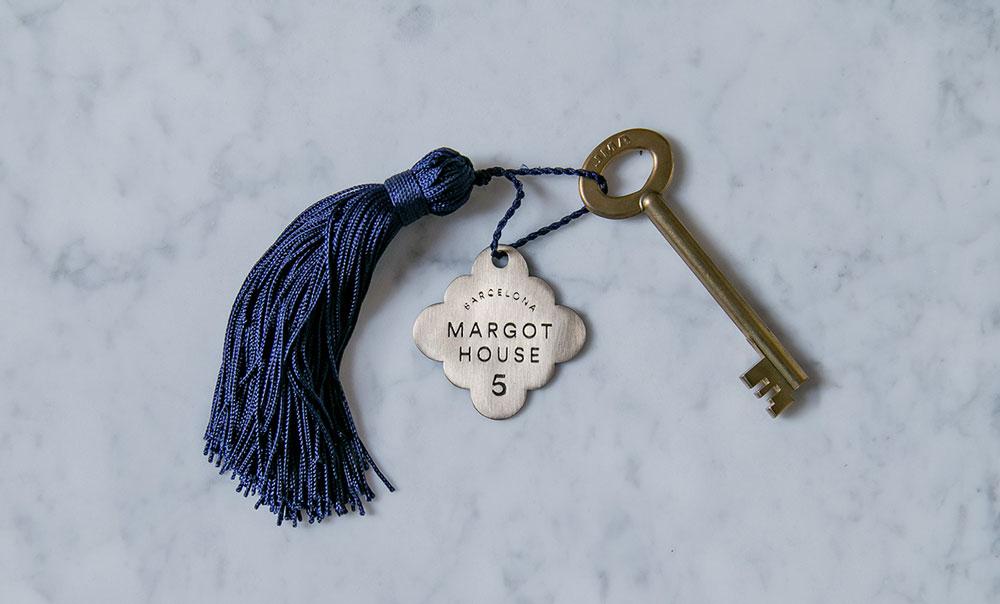 Hotel Margot Barcelona. Un branding de corte clásico-moderno