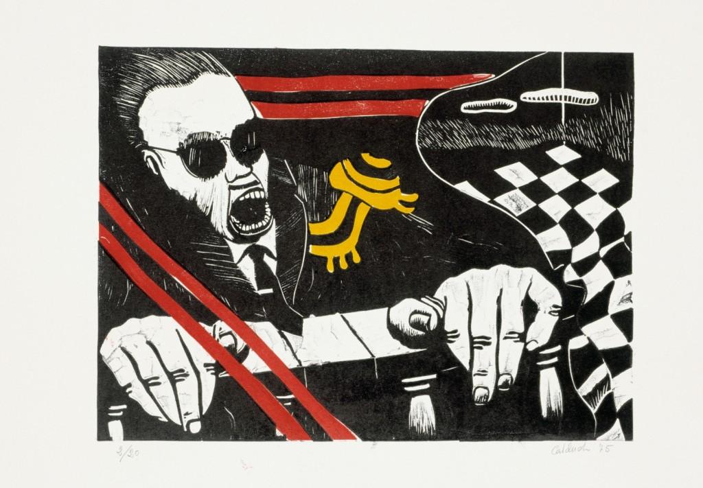 Colectivos artísticos en Valencia bajo el franquismo – El-dictador-1975_-Rafael-Calduch