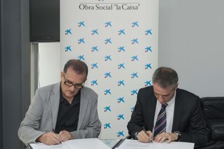 """El IVAM firma con la Obra Social """"la Caixa"""" un convenio de colaboración en materia educativa"""