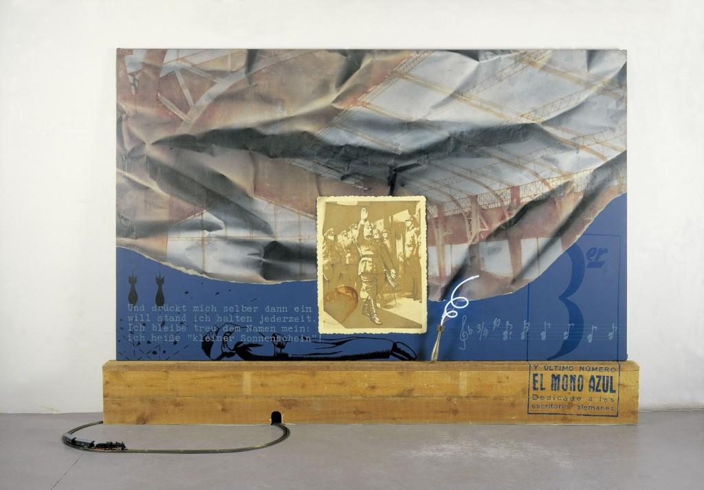 Colectivos artísticos en Valencia bajo el franquismo – Sueño-temor-y-realidad-del-Mono-azul-1974-Artur-Heras