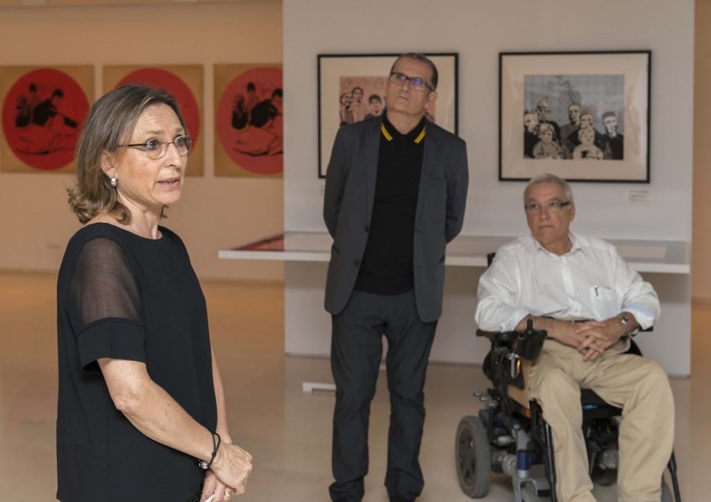 Presentacion Ana Peters+Colectivos Artisticos