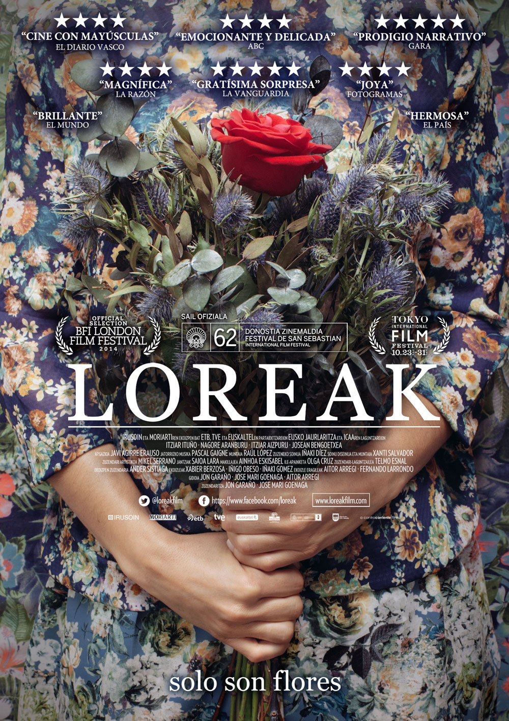 carteles de cine – cartel del film Loreak
