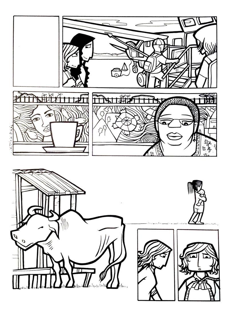 Cristina Durán – 300 ilustraciones para ayudar a la recuperación de Nepal