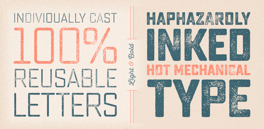 Tipografía handemade en alta resolución de Yellow Design Studio