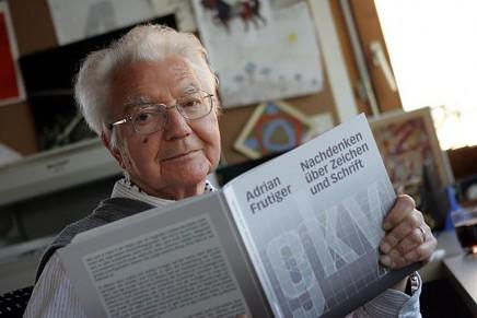 Desaparece el maestro de la tipografía moderna, Adrian Frutiger