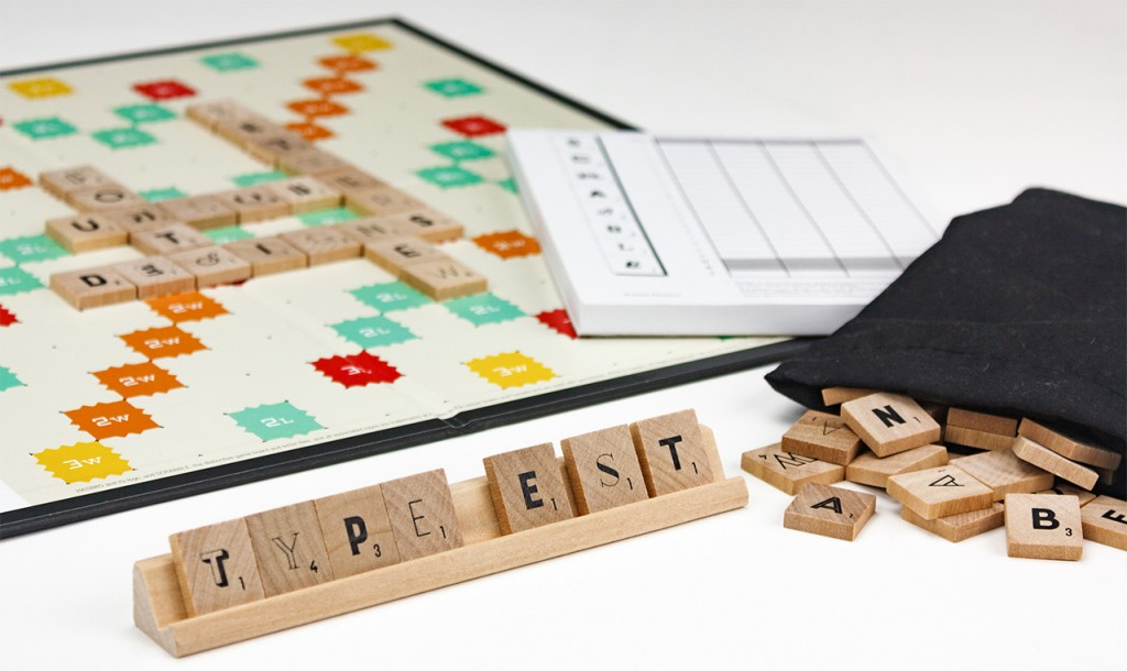 Scrabble Typography Edition