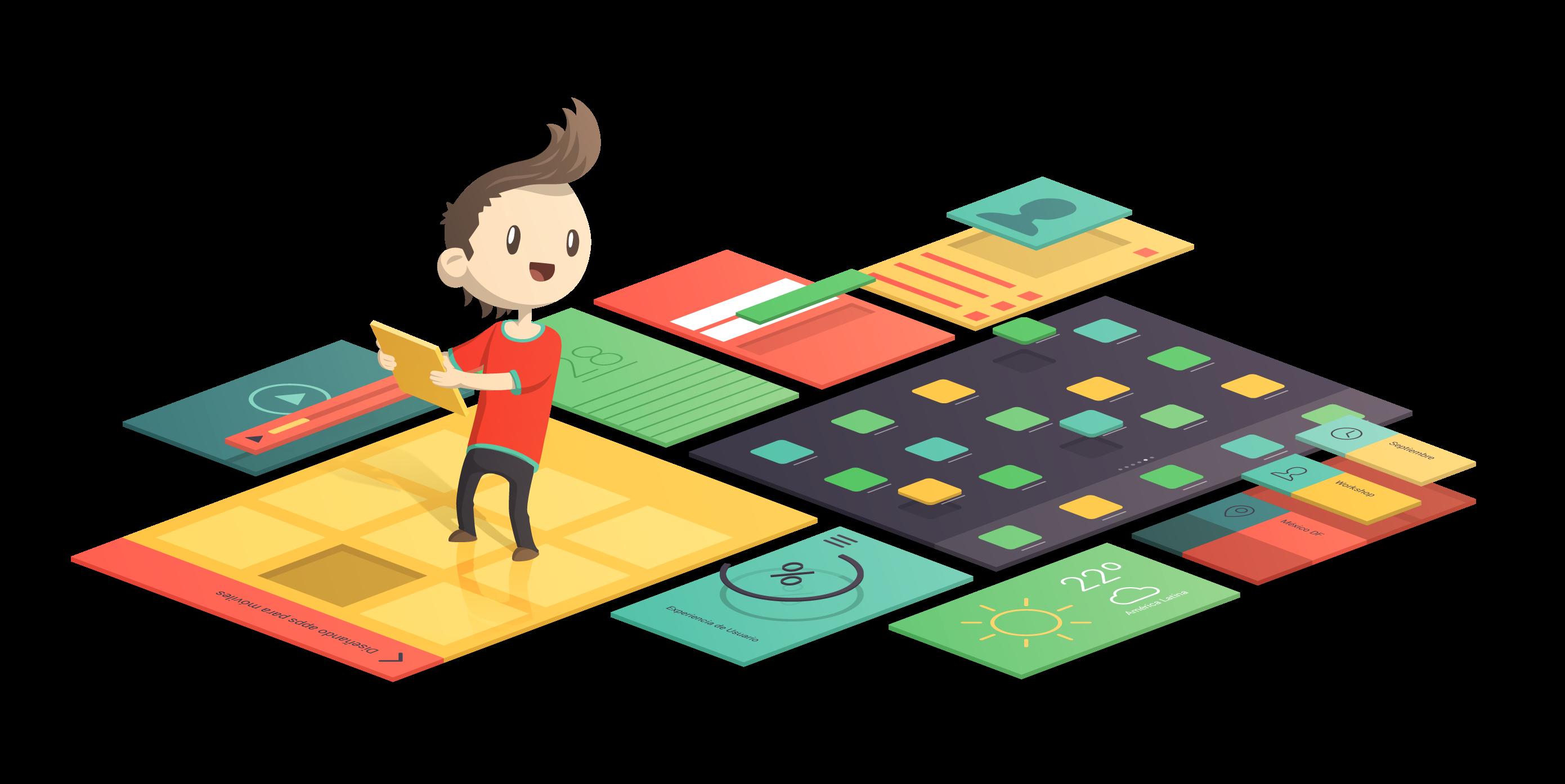 diseñar una app con Traveling design
