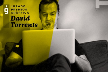 David Torrents – Jurado Premios Gràffica 2015