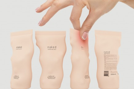 Naked, el packaging inteligente que responde al tacto humano