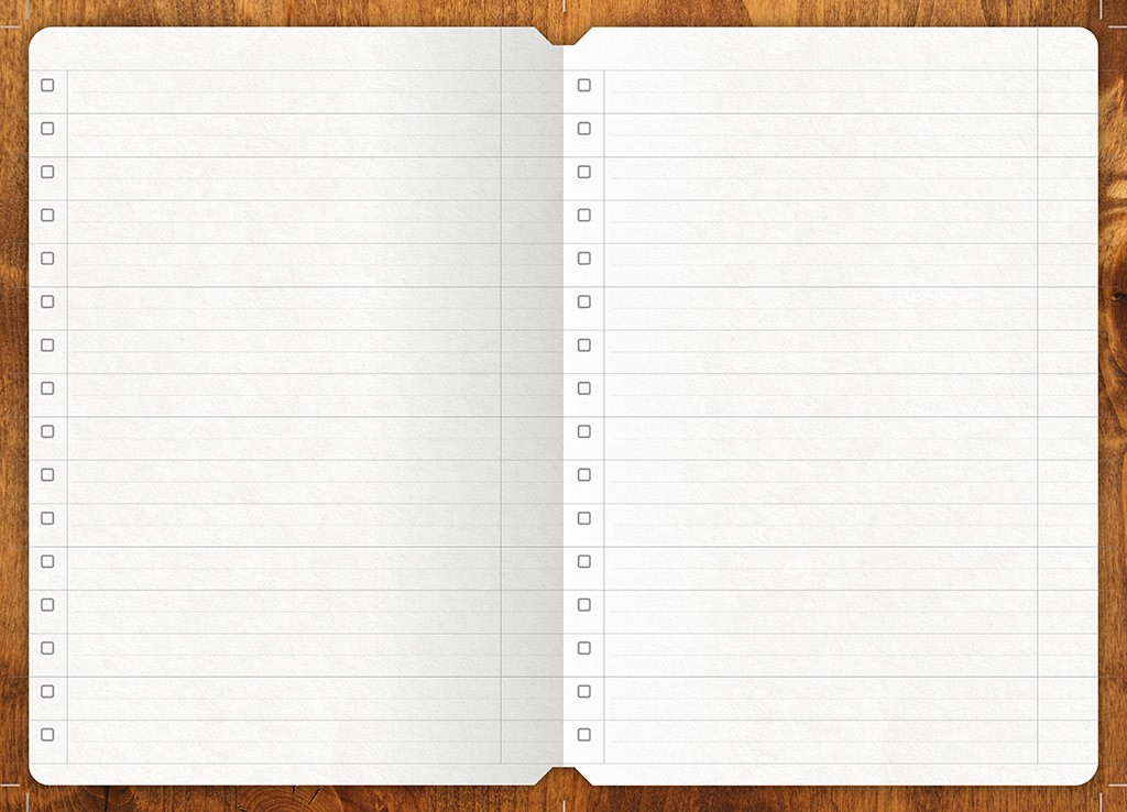 To-do List Booklet Mixiw Notebook