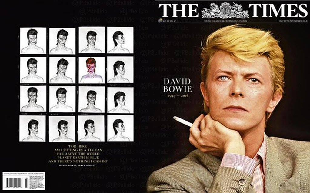 Las mejores portadas homenaje a David Bowie