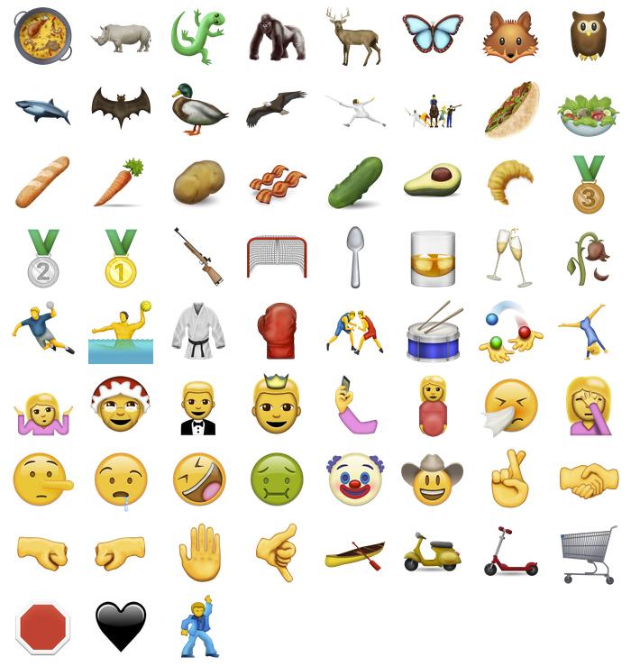 ¿Ya has visto los nuevos emojis?