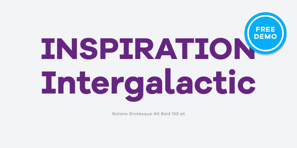 Galano Grotesque, tributo a las clásicas tipografías geométricas