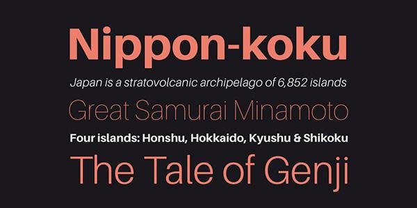 Aileron, la tipografía entre la Helvetica y la Univers