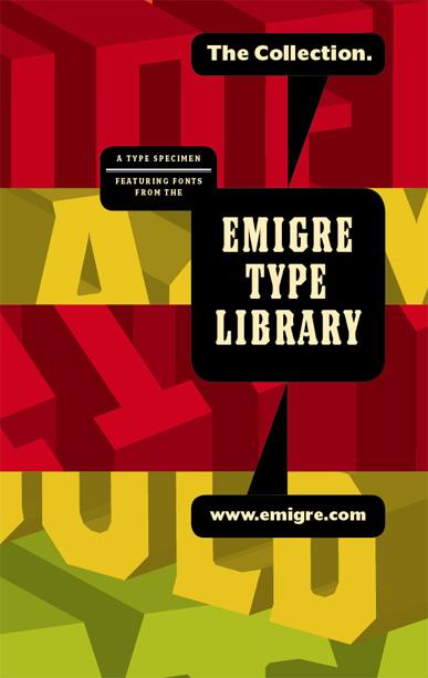 Descárgate gratis 34 especímenes tipográficos de Emigre