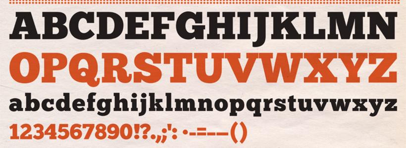 Chunk, la tipografía gratuita para titulares con regusto a western
