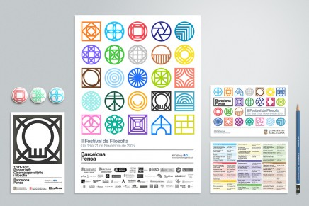 Todo un despliegue de símbolos para un festival de filosofía