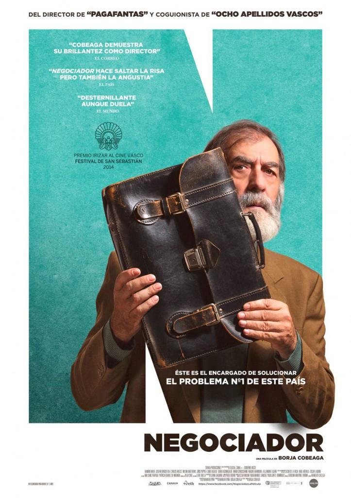 'Negociador' - Iñaki Villundas y  Jorge Alvariño.