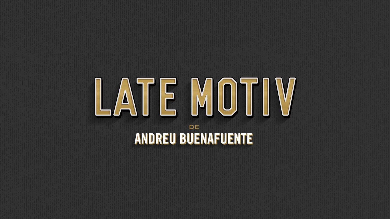 Vasava crea la imagen del nuevo programa de Buenafuente, Late Motiv