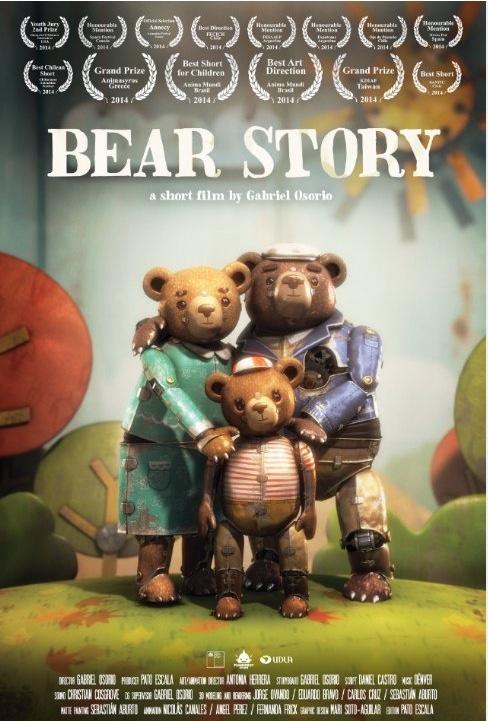 Oscar 2016 al mejor corto de animación para 'Bear Story', de Gabriel Osorio y Pato Escala