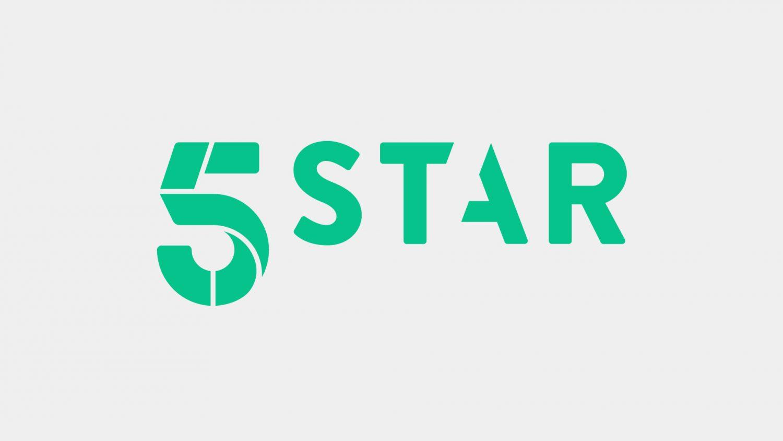5StarGreen_White