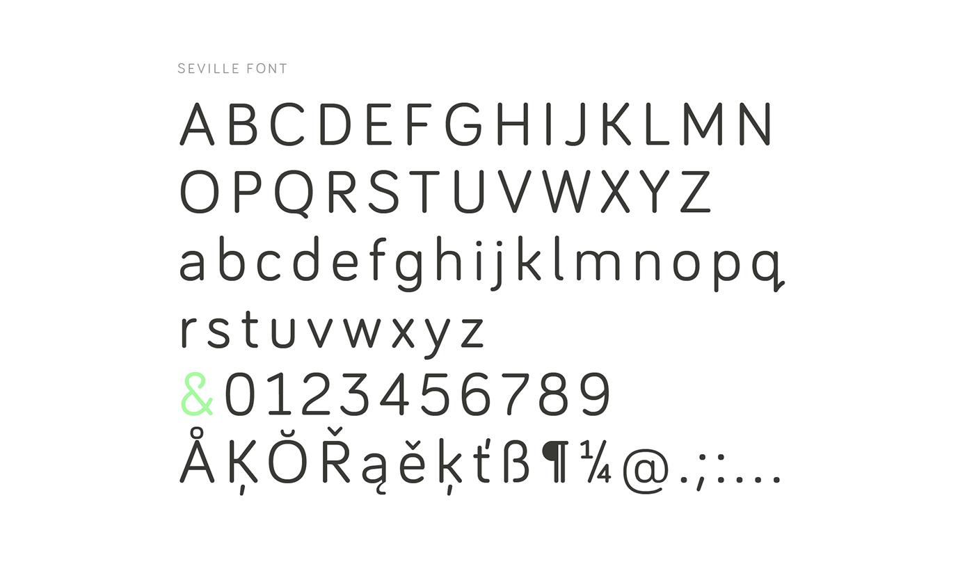 Seville, la nueva tipografía deportiva de Atipo