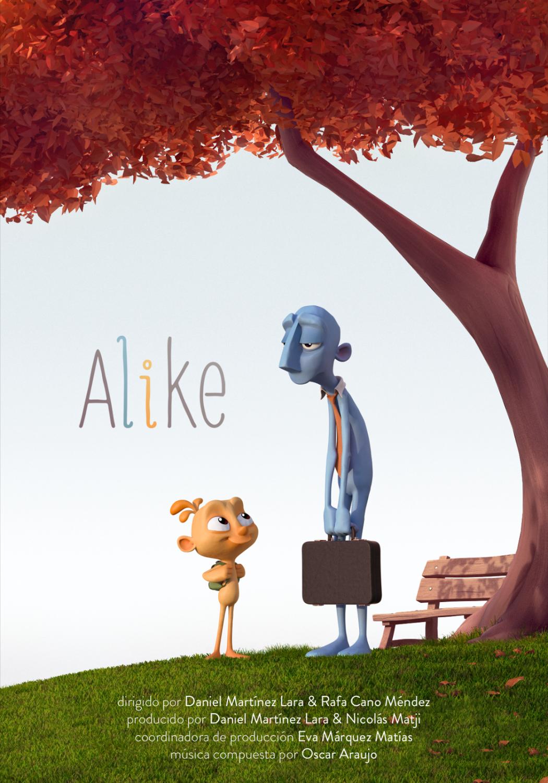 Alike, premio Goya 2016 al mejor corto de animación