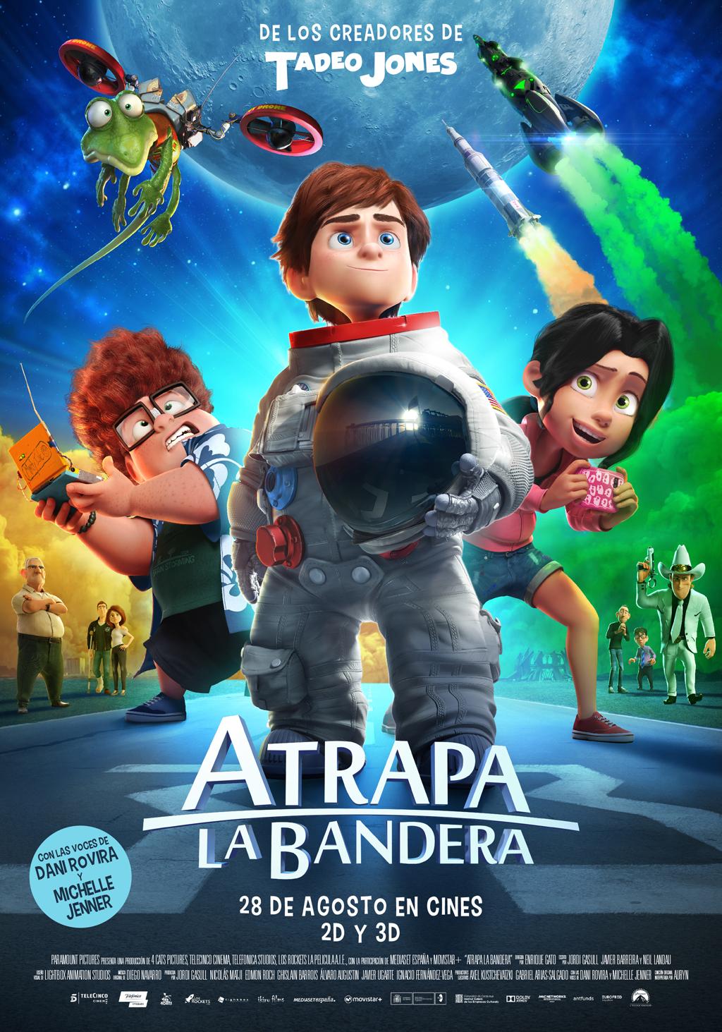 Goya 2016 a la mejor película de animación para Atrapa la bandera, de Enrique Gato