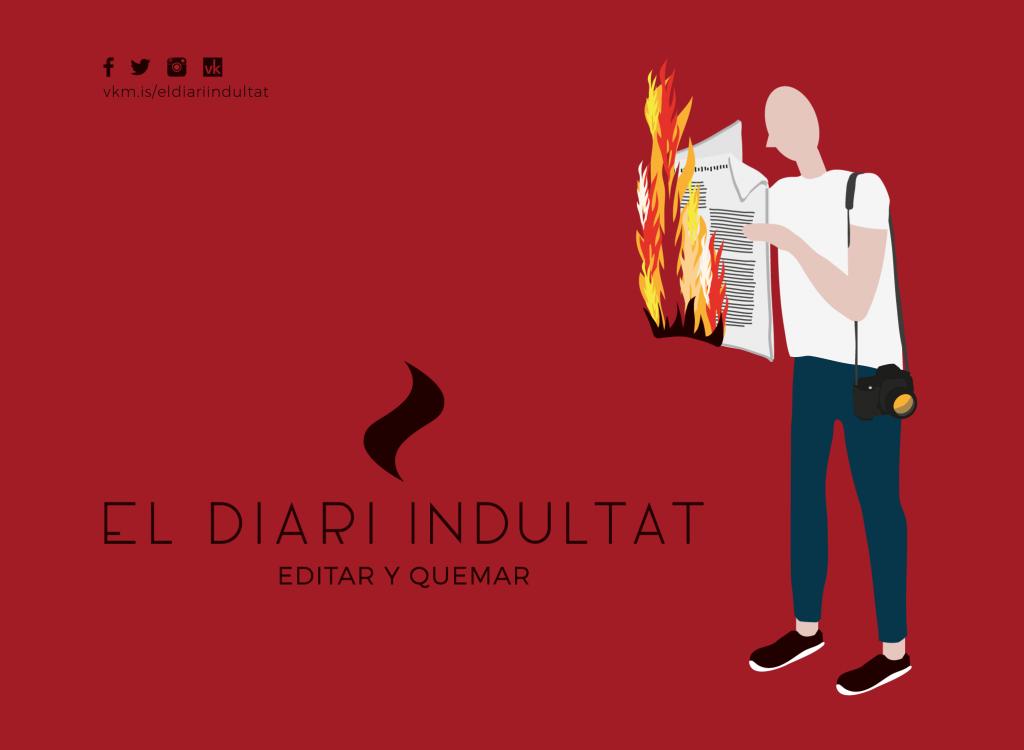 'El Diari Indultat', el fotolibro que puedes rescatar de las llamas
