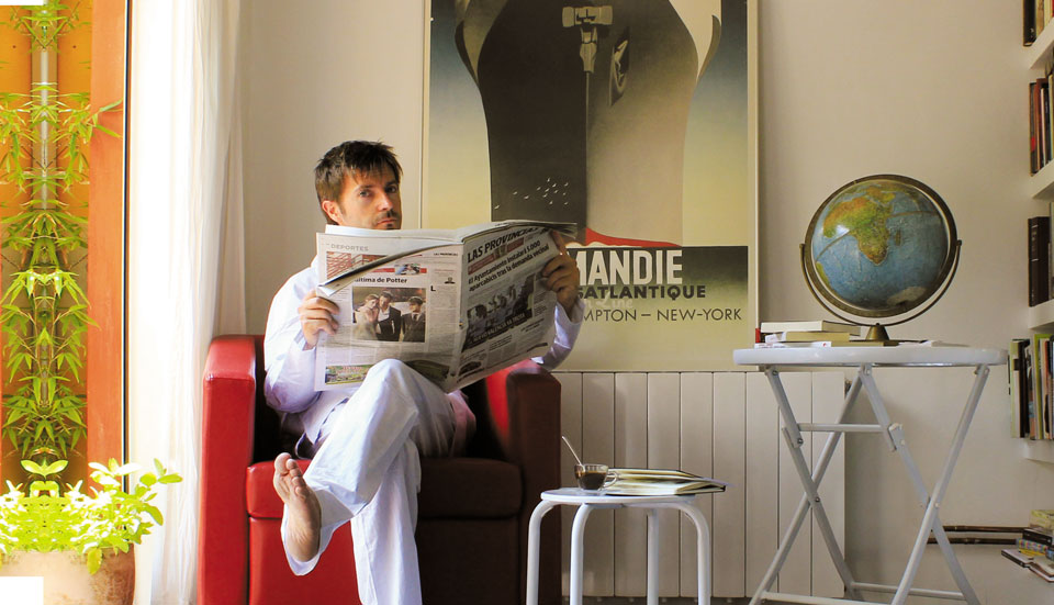 Paco Roca: «Para mí fue como cumplir un sueño infantil: trabajar en casa y además en pijama»