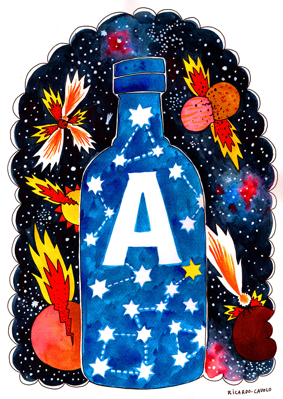 #Absoluticon,10 transformaciones artísticas de la irónica botella