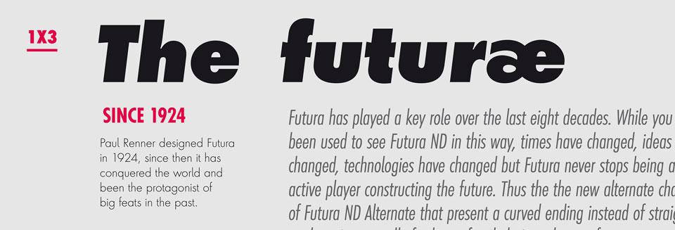 Futura ND Alternate
