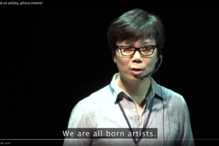 Sé un artista, ¡ahora mismo!, por Young-ha Kim