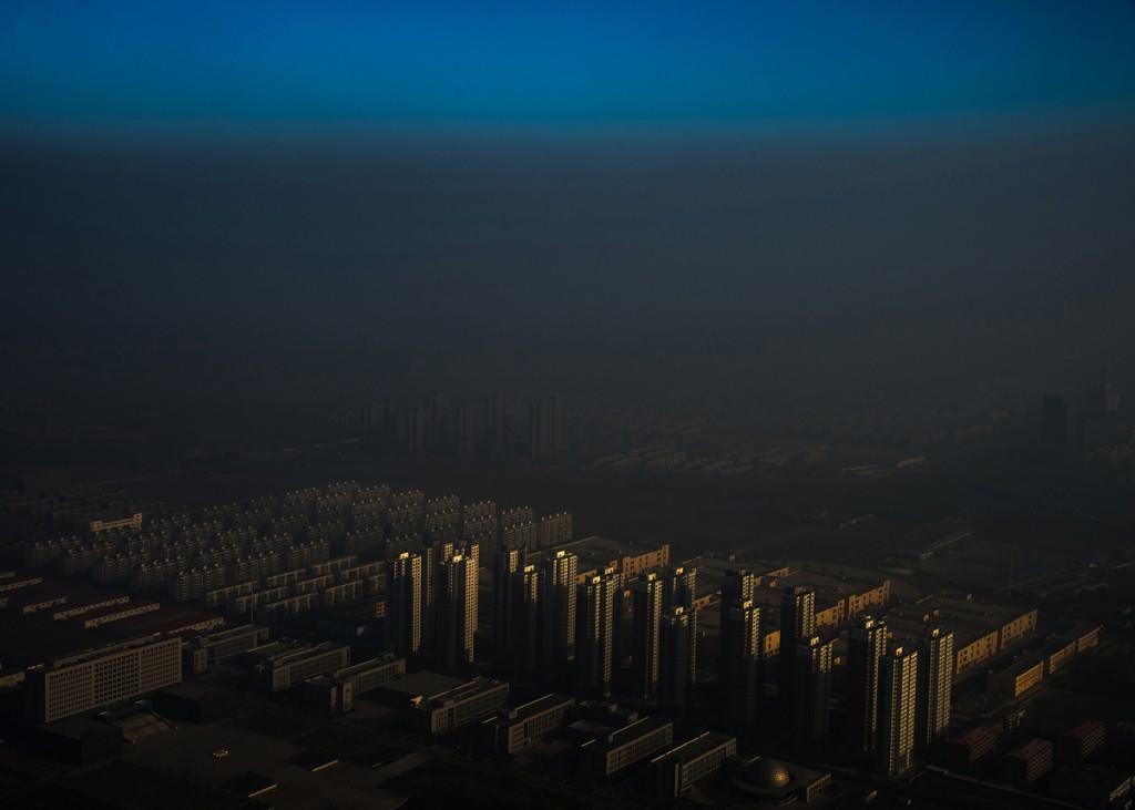 Haze in China, por Zhang Lei. Primer premio en la categoría de Temas contemporáneos.