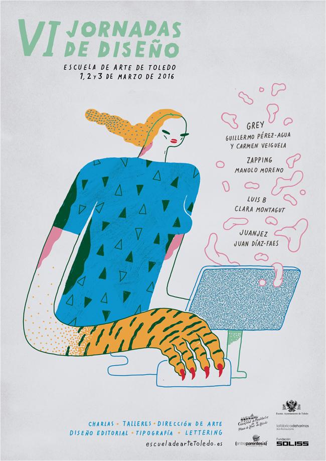 VI Jornadas de Diseño de la Escuela de Arte Toledo