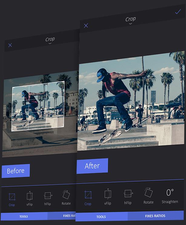 Enlight, la aplicación que fusiona el retoque digital con el poder de los filtros