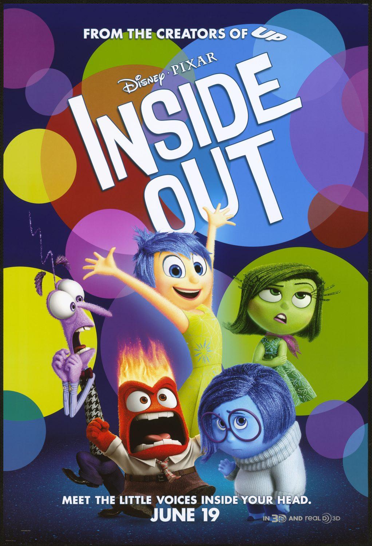 Oscar 2016 a la mejor película de animación para Inside Out, de Pete Docter y Ronnie del Carmen