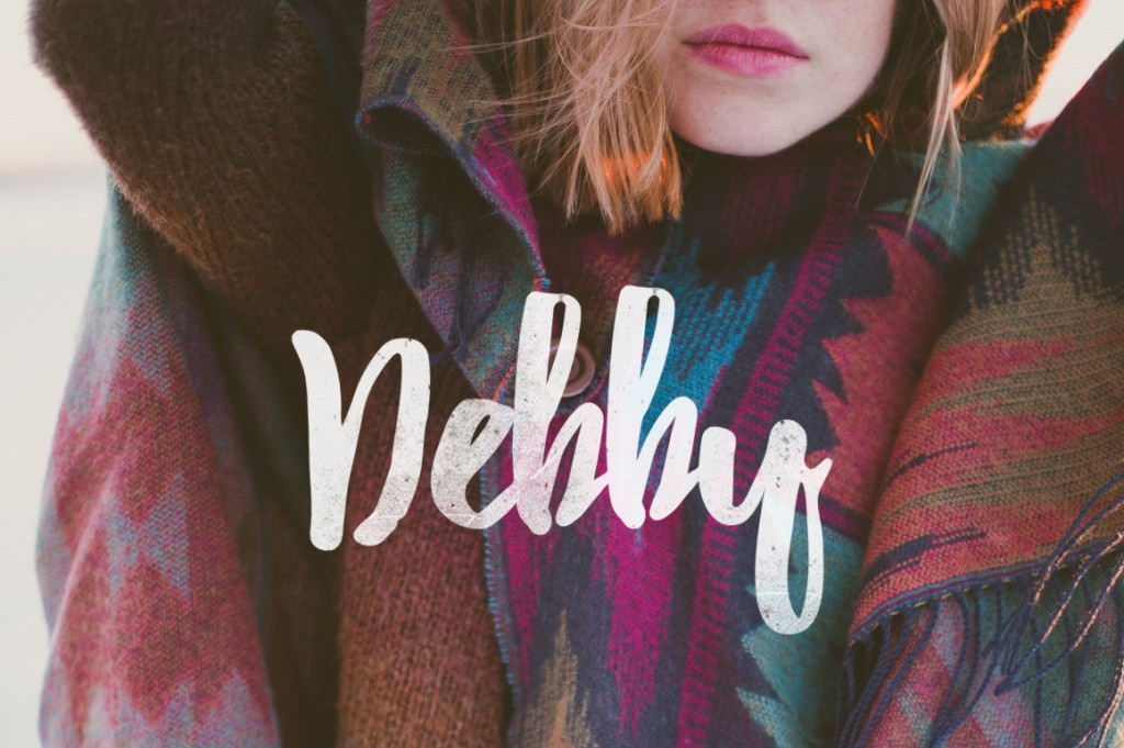 Debby, la tipografía gestual gratuita más espontánea y natural
