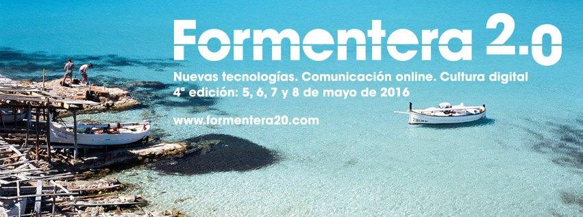 Formentera 2.0. Vuelven las jornadas de nuevas tecnologías y comunicación online
