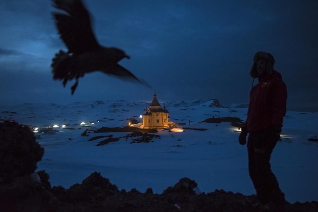 An Antarctic Advantage, por Daniel Berehulak. Primer Premio en la categoría de Vida Cotidiana - Historias.