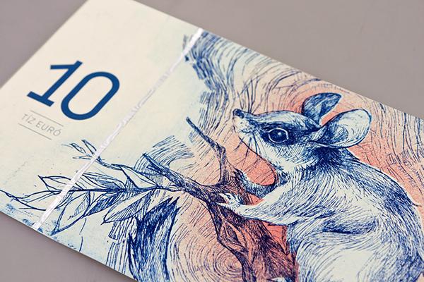 ¿Cómo rediseñarías los billetes de euro? Barbara Bernát propone esto