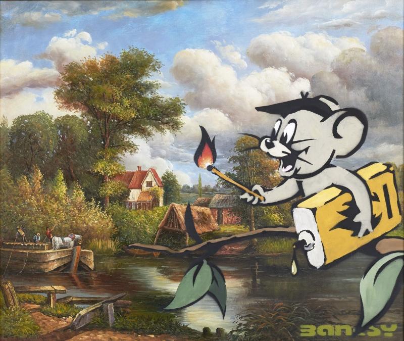 Moco Museum, un nuevo museo en Amsterdam abre sus puertas con Warhol y Banksy