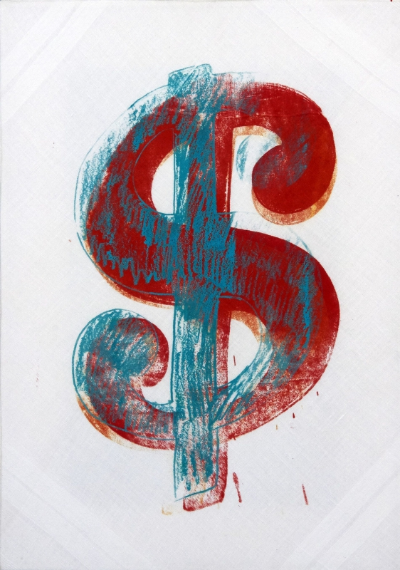 WARHOL - DOLLAR SIGN